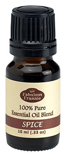Spice Essential Oil Blend 100% Pure, Undiluted Essential Oil Blend Therapeutic Grade - 10 ml A perfect blend of Clove, Sweet Orange and Cinnamon Essential Oils. ()