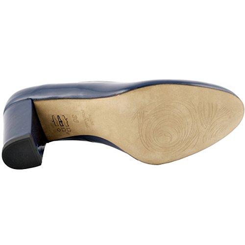 Exclusif Bleu Volga à Paris Marine Chaussures Talons gAqw4gr