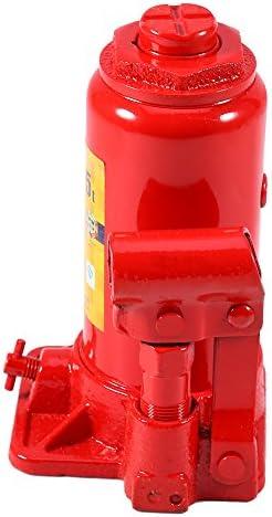Hydraulikzylinder Für Kompakte Limousine Universal Hydraulik Vertikal Flaschenheber Hochleistungs Hydraulikflaschen Wagenheber Hebeständer Dicker Metall Wagenheber Mit Niedrigem Fahrgestell 5t Auto