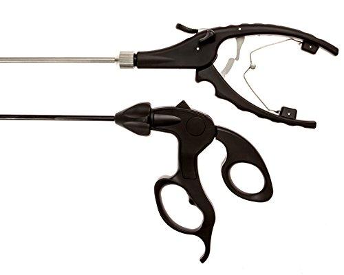 Laparoscopic Training Instruments - Needle Holder and Maryland Forceps Grasper for Student Training Use.
