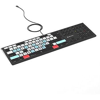 Adobe Lightroom Keyboard - Mac OS Backlit Illuminated Keyboard for Mac OSX - Photography