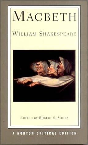 Macbeth (second international student edition) (norton critical.