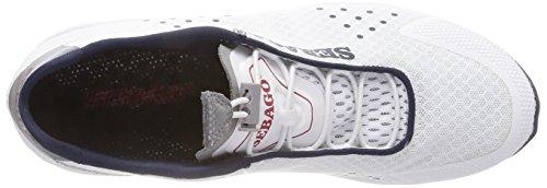 Sebago Ladies Cyphon Sea Sport W Bootsport Scarpe Bianco (bianco 911)