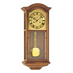 Regulator wall clock, 14 day running time from AMS AM R650/4