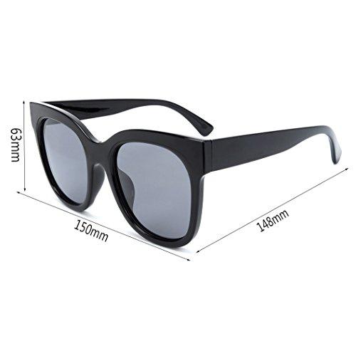 lunettes carrés hommes HL grande face de dames 2018 soleil boîte polarisés nouvelles ronde Des pxgq8dnd