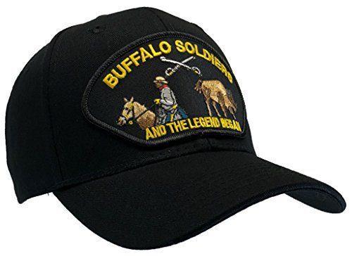 USNAVYSUBVET Buffalo Soldiers And The Legend Began US Army Ball Cap Patch Hat African American Vet