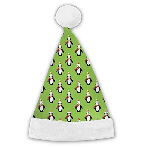 LanFong Christmas-penguin Xmas Costume Santa Hat For Christmas Party Winter Beanie Small (Hat Runescape Party)