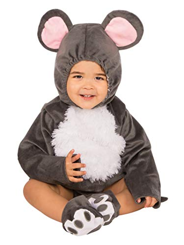 Rubie's Grey Mouse Baby, Toddler
