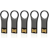 VICFUN 5 Pack 16GB USB Flash Drives 16GB USB Memory Stick USB 2.0 Pen Drive-Rifle