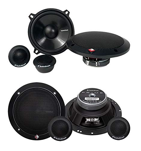 Why Should You Buy Rockford Fosgate R152-S 5.25 80W + 2) R165-S 6.5 80W Component Speakers
