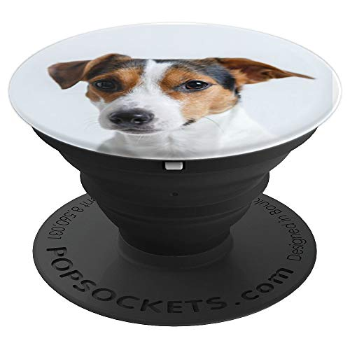 Jack Russell Terrier Face Cute Dog Puppy Lover pop socket - PopSockets Grip and Stand for Phones and Tablets