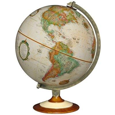Replogle Salem 12 in. Antique Desk Globe Made in USA