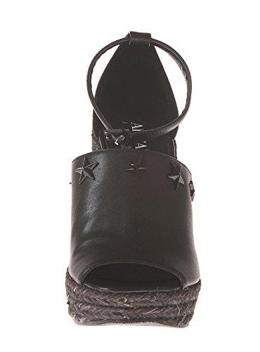 Women's Jeans Ankle Armani Nero 9251507p544 Black Strap Sandals OC55nqdBP