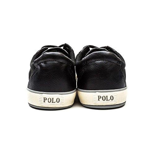Polo Ralph Lauren Klinger Hombre Zapatillas Blanco Negro
