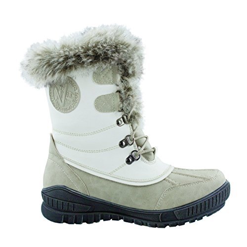 KIMBERFEELDelmos White Après Ski Boots White fyP5pGzCs