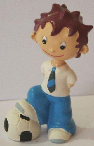 Ben noto Statuetta bambino con palla Calcio per Prima Comunione o Cresima  MG28