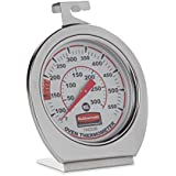 Rubbermaid Commercial Oven Thermometer, Stainless Steel, FGTH0550