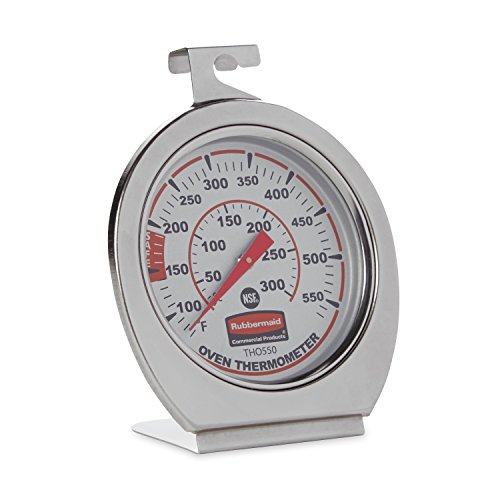 Rubbermaid Commercial FGTHO550 Stainless Steel Oven Monitoring Thermometer from Rubbermaid Commercial Products
