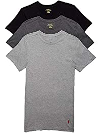 Slim Fit Cotton T-Shirt 3-Pack