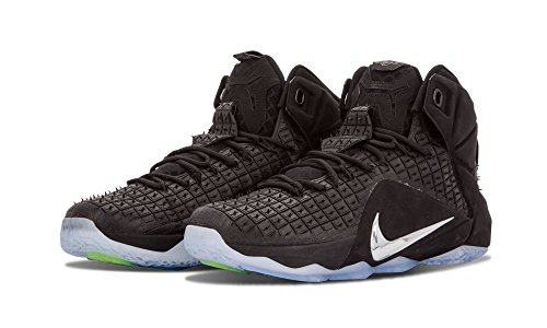 Nike Lebron Xii Ext Rc Qc Menns Basketball Sko Svart
