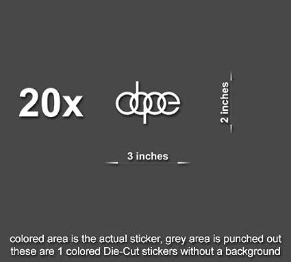 Amazon Com 20x Dope Decals Stickers Jdm Fresh Illest Drift Euro