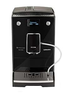 Nivona CafeRomatica 757 Independiente Totalmente automática Máquina espresso 2L 2tazas Negro, Plata - Cafetera (Independiente, Máquina espresso, 2 L, Molinillo integrado, 1455 W, Negro, Plata)
