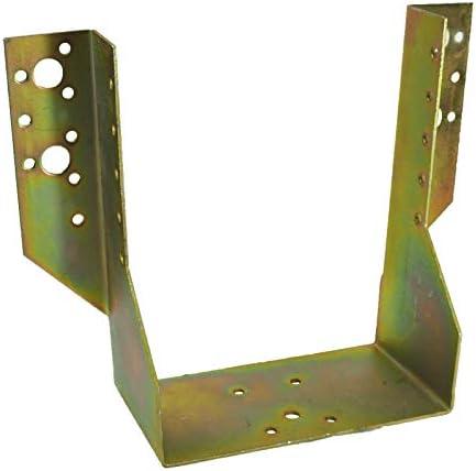 Viga - uniones para madera - soporte de acero - postes de ángulo: Amazon.es: Bricolaje y herramientas