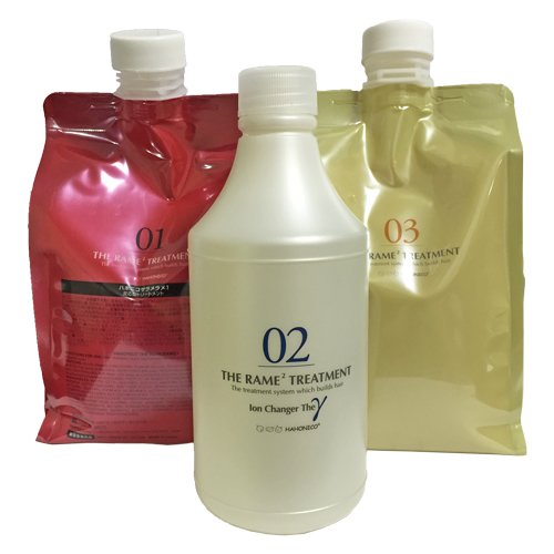Hahoniko The lame lame treatments three-piece set Ramerame NO1 NO2 NO3 commercial size (each 1Kg / 500ml) by Hahoniko