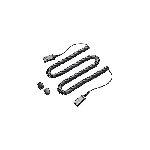 (Plantronics 10 ft. Coiled Quick Disconnect Extension Cord (QD to QD))