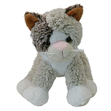LiLaLu 15 cm Cara Gato de Peluche (Tamaño pequeño), Multicolor: Amazon.es: Juguetes y juegos