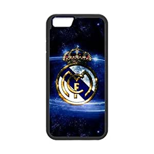 At-Baby Design Custom Cristiano Ronaldo Real Madrid Protecoer Phone Case Phonecase Cover For iPhone 6 4.7 (Laser Technology) TT1