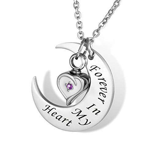 HOUSWEETY Cremation Keepsake Memorial Non engraving