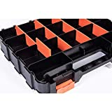 HDX Tool Box 34-Compartment Tool Organizer, Double