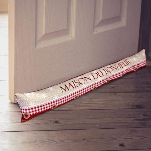 Cojín Burlete para puerta, diseño de casa de la felicidad ...