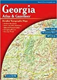 Georgia Atlas & Gazetteer 5th (fifth) edition Text Only