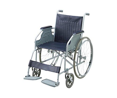 【非課税】アズワン 車椅子(スチール製) NWC-10S /8-5952-01 B00SUGSX5A