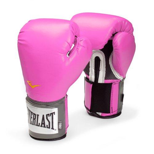Everlast Women's Pro Style Training Gloves, Pink – 8 oz.