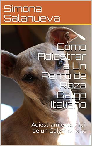 Cómo Adiestrar a Un Perro de Raza Galgo Italiano  : Adiestramiento Fácil de un Galgo Italiano por Simona Salanueva