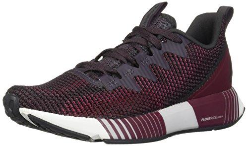 (Reebok Women's Fusion Flexweave Running Shoe, Smokey Volcano/Twstd Berry/r, 8.5 M US)