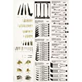 6 Pack Classic Gold & Black Pen Nib Holder (Product Catalog: Writing & Drawing Mediums)