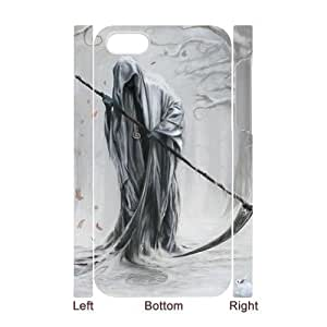 3D Bumper Plastic Case Of Grim Reaper customized case For Iphone 4/4s