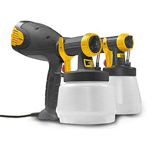Wagner Fence & Decking Sprayer W510GB for fences, sheds, decking or garden furniture, covers 15 m² in 13 min, 1300 ml capacity, 350 W