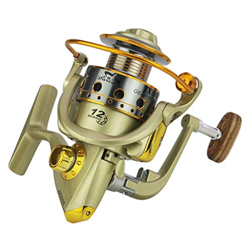 JX1000-7000series Wheels Fish Spinning Reel Durable Pescaria Molinete Spinning Reel Zulmuliu (JX1000)