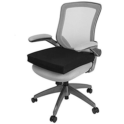Big Hippo Seat Cushion Back, Sciatica Tailbone Pain Relief-Memory Foam Chair Seat Cushion Pad Wheelchair, Office & Car by Big Hippo