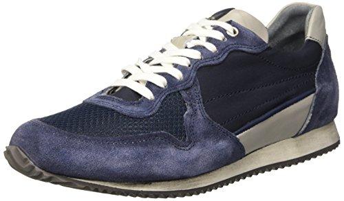 BATA 8499647, Sandalias con Plataforma para Hombre Azul (Blu)