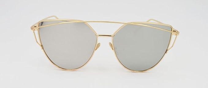 SZXC gafas de sol hombres y mujeres de color película ...