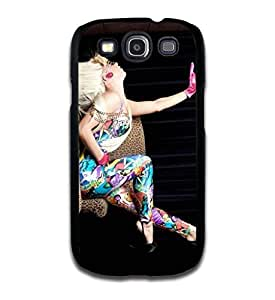 Tomhousomick Custom Design Women's Fashion Cases Sexy Singer Lady Gaga Case for Samsung Galaxy S3 Back Cover #242