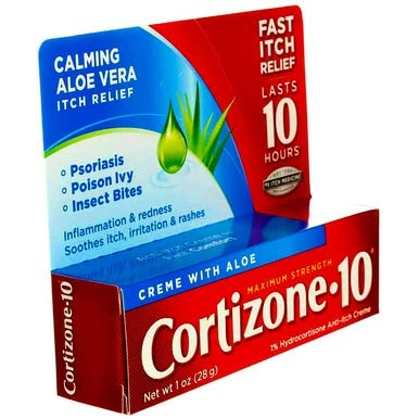 Cortizone 10 Maximum Strength Anti-Itch Creme , 1 Oz by Cortizone 10 (Image #2)