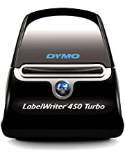 Save on Dymo LabelWriter 450 Turbo Label Maker, Black/Silver and more