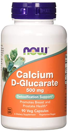 NOW Calcium D-Glucarate 500 mg,90 Veg Capsules